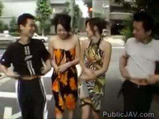 swingers, blowjob, public