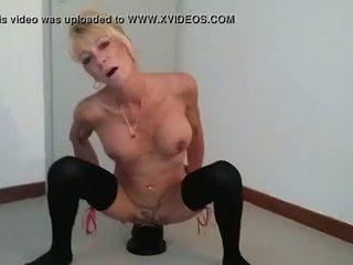 Annabelle Dangel extreme giant plug huge pussy