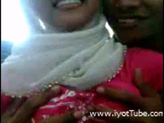 Muslim Girl In Action