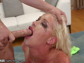 Riley Jenner Sloppily Deepthroats and Teases: Free Porn bf