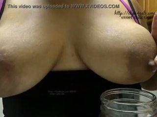 milk, drinking, lactation