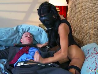 Big Boobed Breanne Benson Fucking In Gas Mask