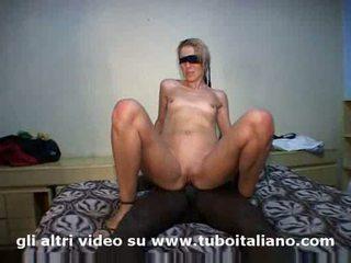 Italienisch rallig blond ehefrau straziami ma di cazzi saziami