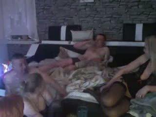 Amatérske swingers: zadarmo skupina sex porno video f9
