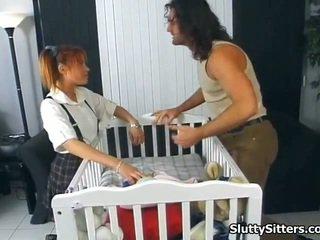 Opiekunka do dziecka likes do być twin fucked