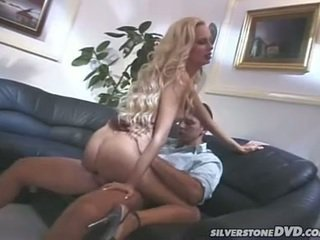 Horny Blonde Have Her Tiny Anus Tunnel...