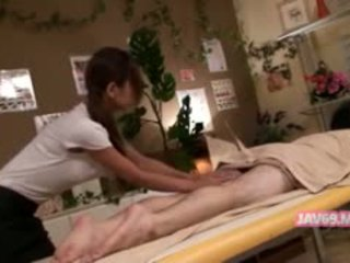 japonés, mamada, masaje