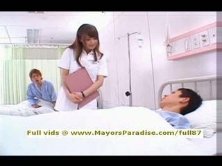 krankenschwester, krankenhaus, asiatisch