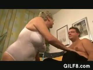 grandma, granny, blowjob