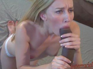 Sucking 12 Inch Black Cock Compilation