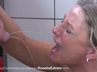 مات geile جبهة مورو rosellaextrem trinkt pisse: حر عالية الوضوح الاباحية b0