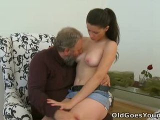 brunette, melons, big tits