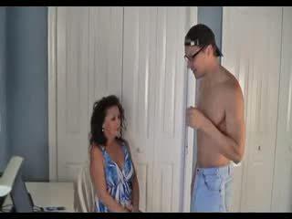 Son Hypnotizes Mom For Sex Video