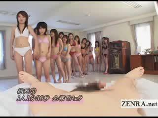 Japan amateurs stripping Nude in massive bj POV harem