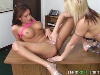 Scissor Sisters Brooke Haven And Tori Lane Toying