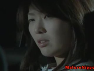 Japanese Mature Getting Fucked Outdoor