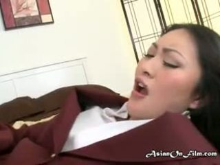Hot Asian Student Has Sex With Tutor After School