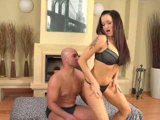 Horny euro milf is hungry for man's juice