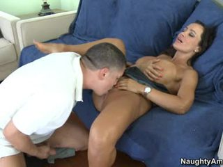 Lisa Ann Milf Love The Hot Boy's Snatch Take Up With The Tongue