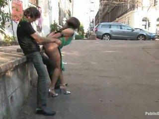 Aranyos lea készült szeretet nagy belül a nyilvános hely alfresco