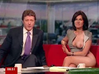 Susanna reid hrát s pohlaví hračky na breakfast televize