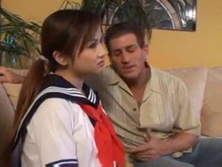 Sexy Tia Tanaka asian schoolgirl