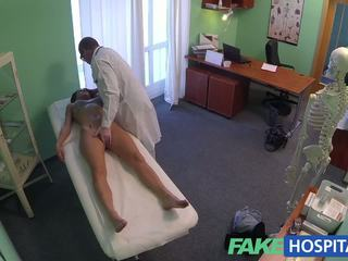 FakeHospital Gorgeous young pole dancer with hot body swallows the doctors medicine