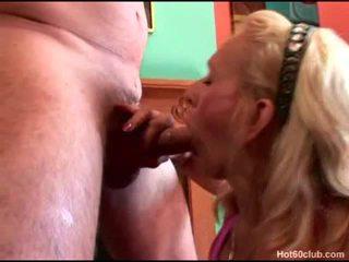 Prick Dicklicking Blonde Granny Having Her Mouth Shag