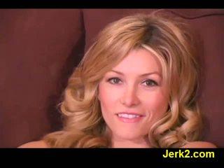 Heiß blond heather vandeven im sexy unterwäsche video