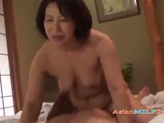 Fat Mature Woman Getting Her Hairy Pussy Fucked By Young Guy Creampie On The Mattress