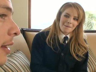 Ally Ann schoolgirl