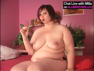 Lollypop v velké krásné ženy kočička, yummy 1