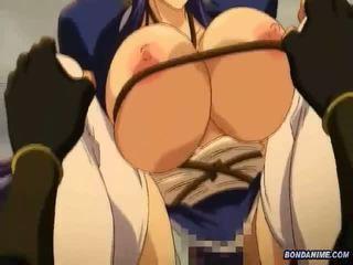 Veliko oprsje hentai punca zavezani in rammed deeply pri th