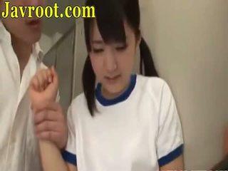 brunetka, seks oralny, japoński, wiek dojrzewania