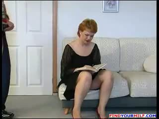 Handyman Forced To Fuck Russian Mature Mom