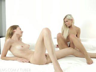 Nubile Films - Dido Angel cums on her girlfriends fingers