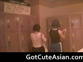 Voyeur Japanese Teens In The Locker Room