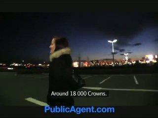 PublicAgent Belinda Given A Spermpie A Public Car Park