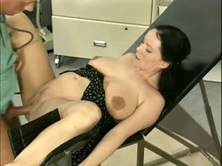 Cute girl fucking with doctor