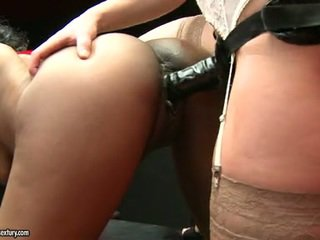 Thong Onto Fucker Kathia Nobili Crams Her Rubber Shaft Bottomless In Her Partners Fuzz