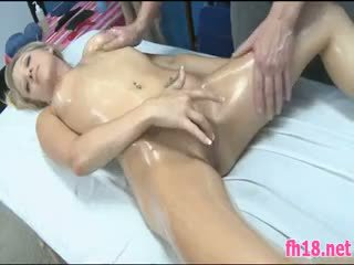 These Sexy 18 Year Old Girls Massage