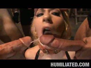 Blondi slavery peak disgrace!