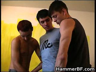 Super Hawt And Horny Chaps Homo Fucking Sex