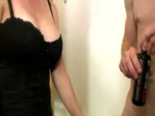 Horny students wants his cock in her hands to tug on