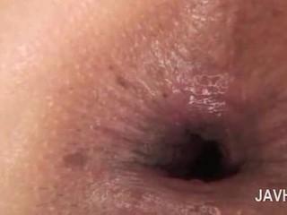 Aasia anaal creampie sisse close-up koos alasti kiimas beib