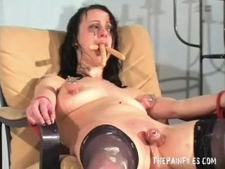 E çuditëshme female poshtërim dhe i çrregullt degradation