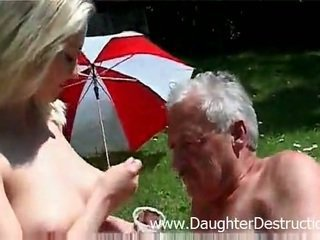 Grandpa likes to violate the younger