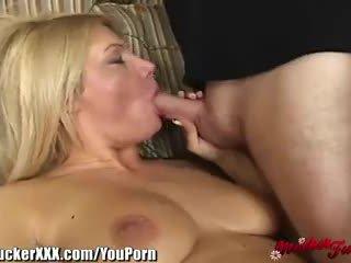 MotherFucker Blonde MILF Loves Cock