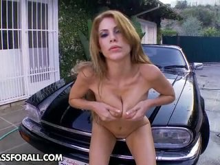 Alexa Nicole Has The Beautiful Shape And The Lovely Car, And...