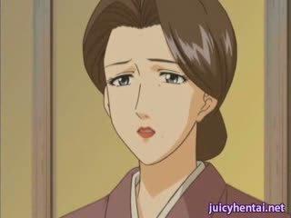Hentai milf gets gebohrt und masturbated